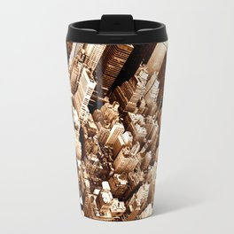 NYC - Big Apple from Empire  Travel Mug
