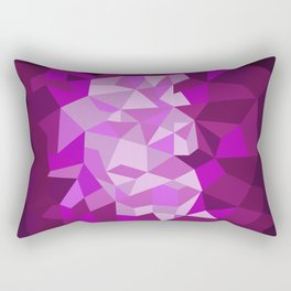 Pink Purple Diamond Illustration Rectangular Pillow