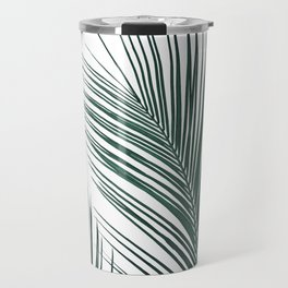 Tropical Palm Leaves #2 #botanical #decor #art #society6 Travel Mug