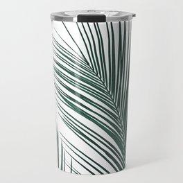 Tropical Palm Leaves #2 #botanical #decor #art #society6 Travel Mug