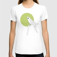 parrot T-shirts featuring Parrot by Rebekhaart