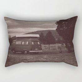 Jenny and Doris Rectangular Pillow