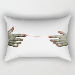 hands II Rectangular Pillow