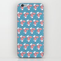 chef iPhone & iPod Skins featuring Pizza Chef by drawgood