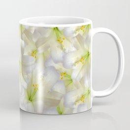 Cotton Seed Lilies Coffee Mug