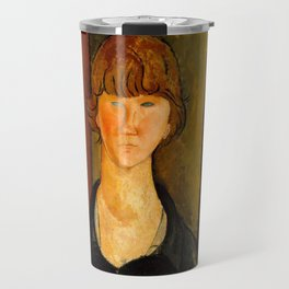 "Amedeo Modigliani ""Flower Vendor.jpg Travel Mug"