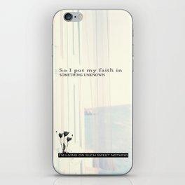 Sweet Nothing iPhone Skin