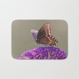 Papillon Sur Fleur Bath Mat