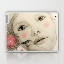 melodie in blush Laptop & iPad Skin