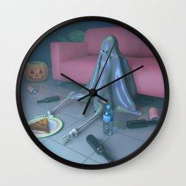 Monday Boos Wall Clock