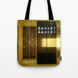 KNOCK KNOCK Tote Bag