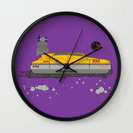 Korben's Taxi Wall Clock