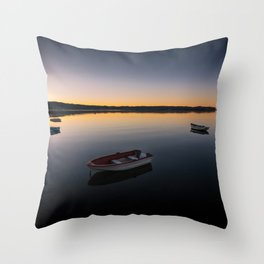 Sunrise over Knysna Lagoon in Western Cape, South Africa Throw Pillow
