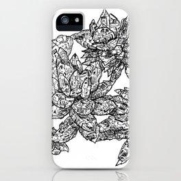 Garden of Danger iPhone Case