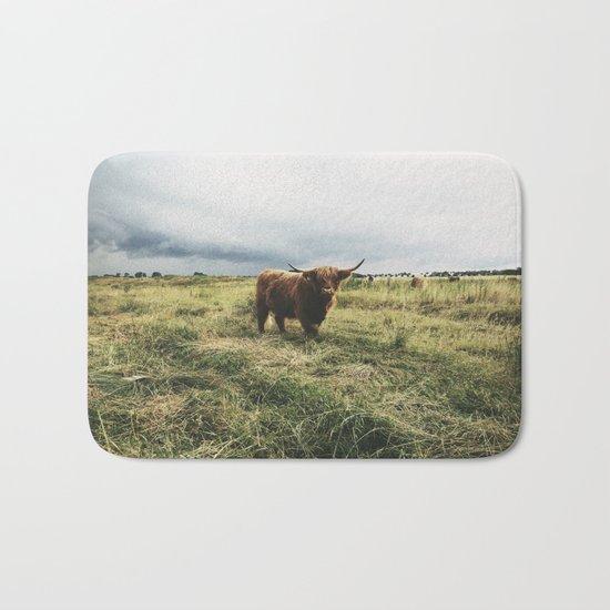 Landscape Bull Bath Mat