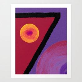 Ruby Seven Art Print