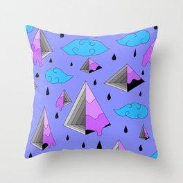 Purple Py Throw Pillow
