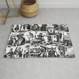 Tarot cards pattern Rug