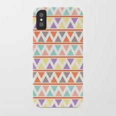 Triangulate 2 / Summer Bliss iPhone X Slim Case