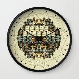 Human Network Wall Clock
