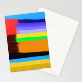 Abstract Painting No 432 By Chad Paschke Stationery Cards