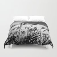 wind Duvet Covers featuring wind by Zsolt Kudar