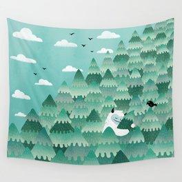 Tree Hugger (Spring & Summer version) Wall Tapestry