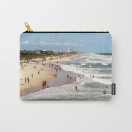 Tourist At Kure Beach Carry-All Pouch