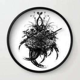 Dragon's Garden Wall Clock