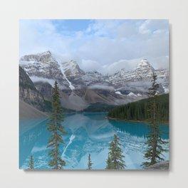 Moraine Lake Rocky Mountain Banff Canada  Metal Print