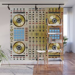 DDJ SX N In Limited Edition Gold Colorway Wall Mural