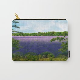 Summertime Lavender Carry-All Pouch