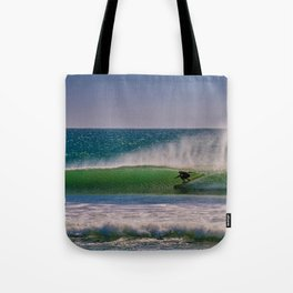 Green Room at the River Jetties Tote Bag