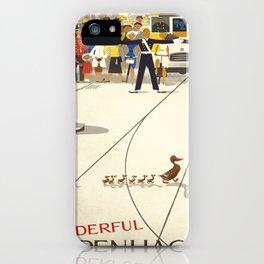 Vintage poster - Copenhagen iPhone Case