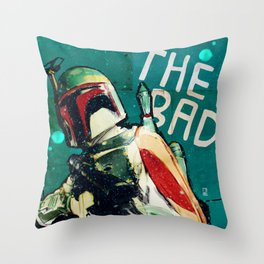 The Good, The Bad & The Ugly: Star Wars Throw Pillow