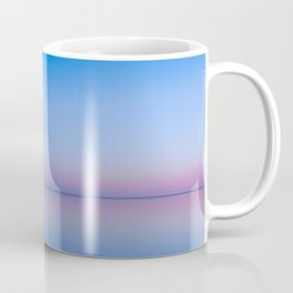 Radiant Gradient in Blue Coffee Mug