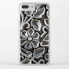 Flowers for the Dead Clear iPhone Case