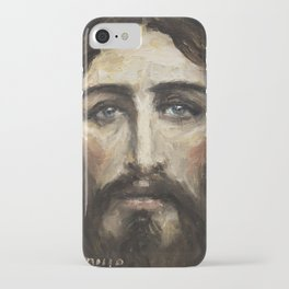 Holy Face of Our Lord Jesus Christ II iPhone Case