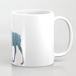 Misty Forest Moose Coffee Mug