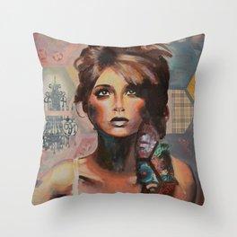 Fair Trade II Throw Pillow
