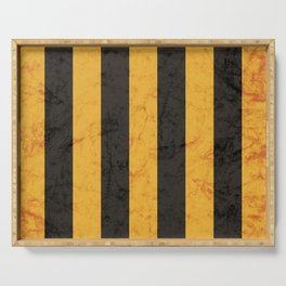 Black and Gold House Colours Serving Tray