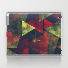 weathered triangles Laptop & iPad Skin