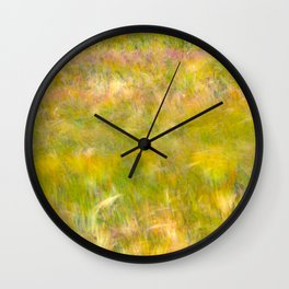 Wind Painting Wall Clock