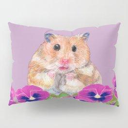 Cute Little Hamster Pillow Sham