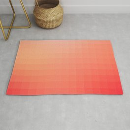 Lumen, Coral and Pink Glow Rug
