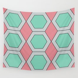 Pastel Geo Wall Tapestry