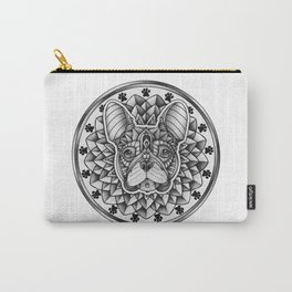 Ornate French Bulldog Carry-All Pouch