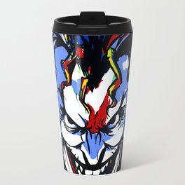 CLOWN FRIEND OR FOE Travel Mug