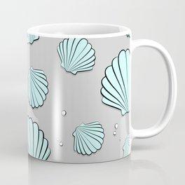 Sea shell jewel pattern Coffee Mug