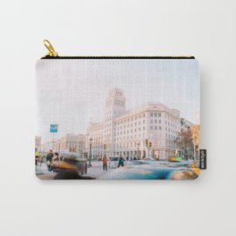 Barcelona 01 -  City vibes, Spain, Travel, Street Urban Photography, Wall Art, Home Decor, Europe Carry-All Pouch